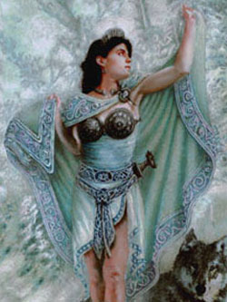 Богиня Дану