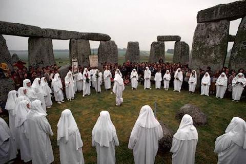 Обряды друиды