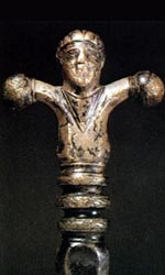 Рукоять кельтского меча