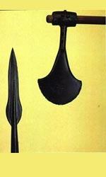Кельтский топор и наконечник копья